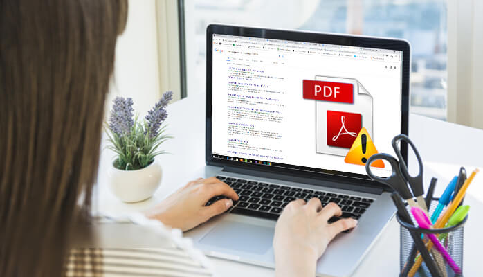 repair and restore damaged PDF