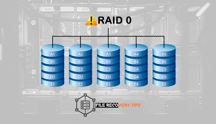 this image explains the easy process of Retrieving files from damaged RAID 0 Array and The best raid 0 data recovery software